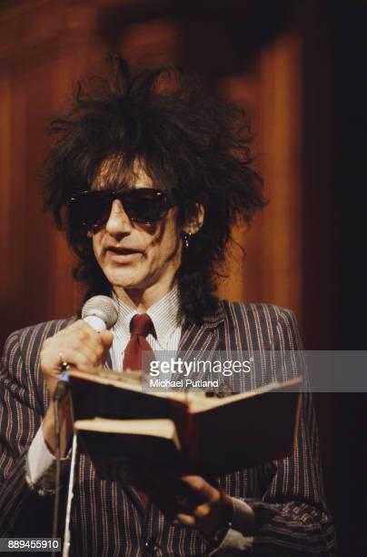 British performance poet John Cooper Clarke 7th July 1996