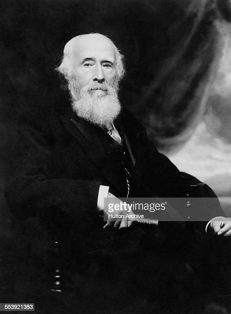 British philanthropist Sir George Williams 1821 1905 founder of the YMCA circa 1895