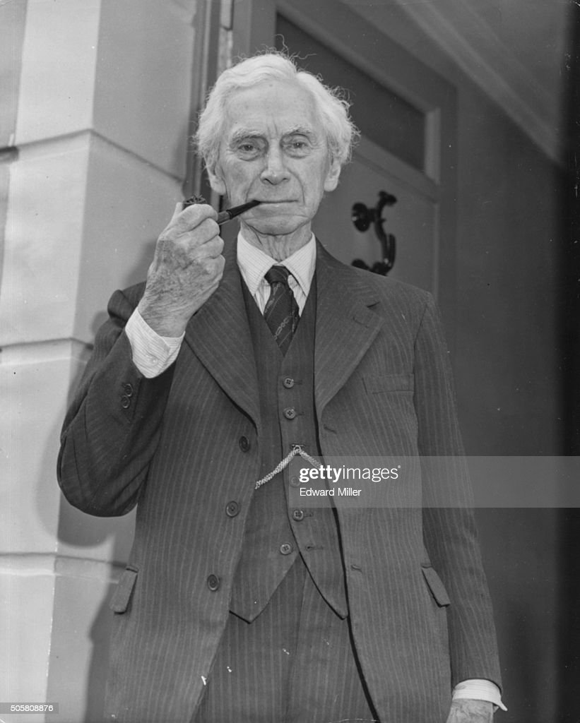 Bertrand Russell : News Photo