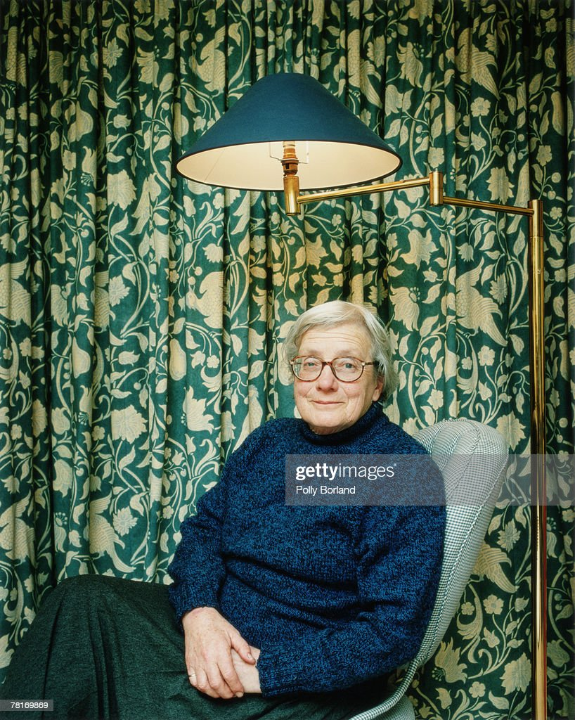 British philosopher Baroness Mary Warnock poses for a portrait shoot in London, 2nd October 2000.