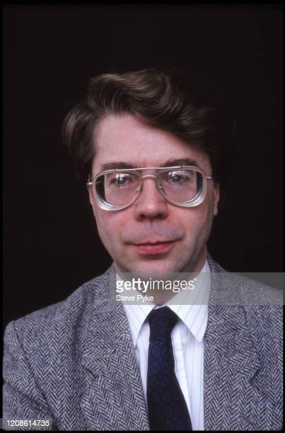 British philosopher Christopher Peacocke, London, 1990.