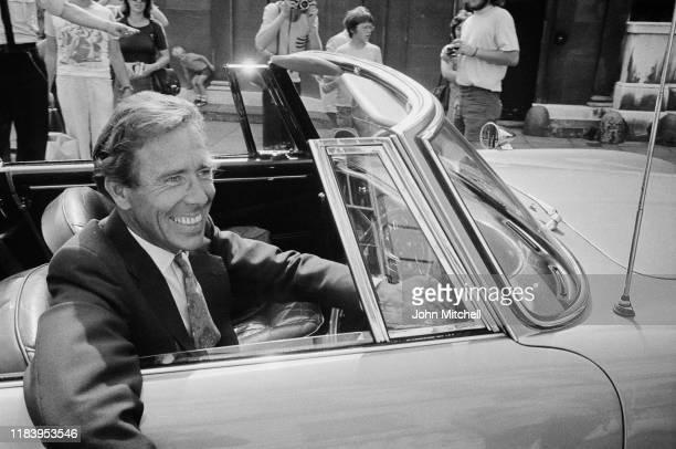 British photographer and filmmaker Antony ArmstrongJones 1st Earl of Snowdon UK 4th August 1975