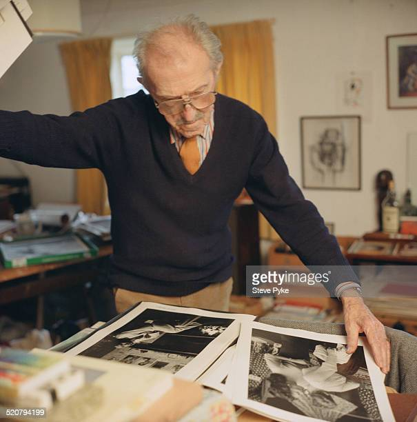 British photographer and photojournalist Thurston Hopkins in Seaford East Sussex UK 10th February 2000
