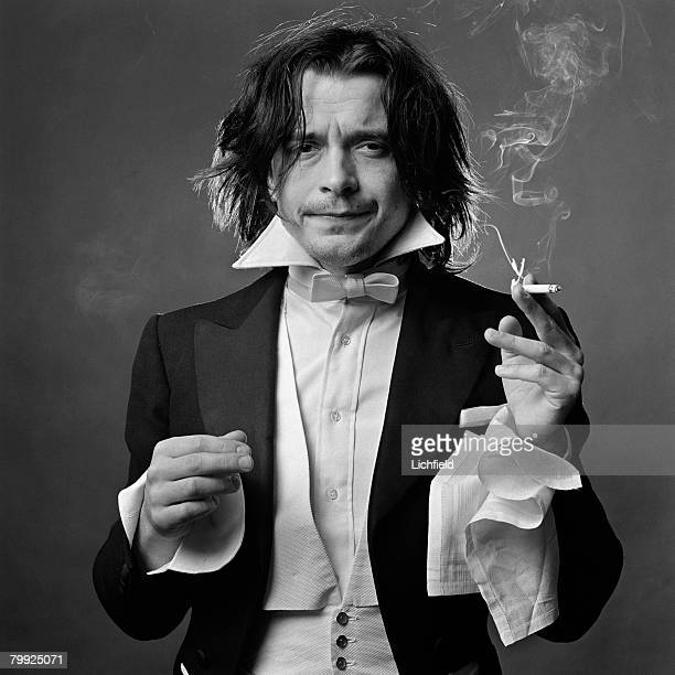 British photographer David Bailey photographed in the Studio on 1st April 1969