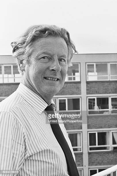 British pilot Group Captain Peter Townsend in London on 6th August 1984.