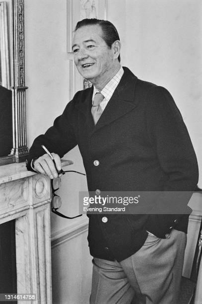 British playwright and screenwriter Sir Terence Rattigan , UK, 24th October 1973.