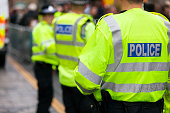 British police crowd control