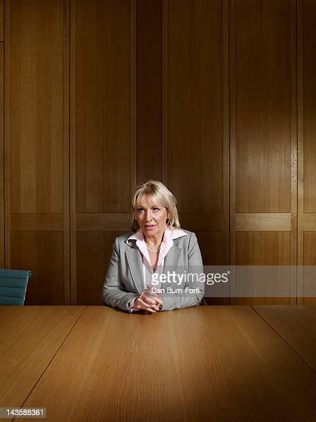 British politican for the Conservative party Nadine Dorries is photographed for the Telegraph on March 8 2011 in London England