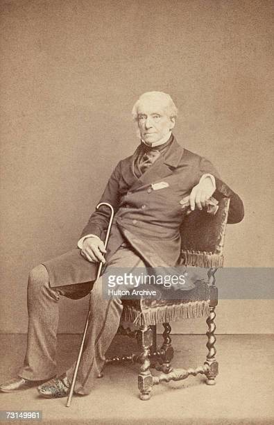 British politician and eldest son of the anti-slavery campaigner of the same name, William Wilberforce , circa 1875.