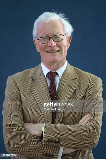 British politician and former Foreign Secretary Douglas Hurd pictured at the Edinburgh International Book Festival where he talked about his...