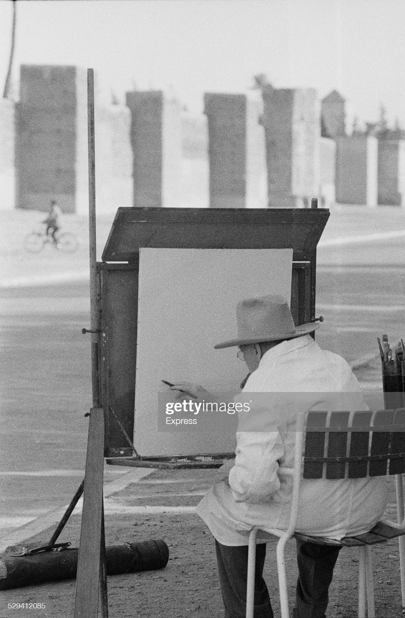 Winston Churchill In Morocco : News Photo