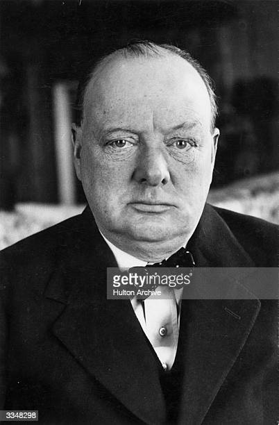 British politician and Prime minister Winston Leonard Spencer Churchill