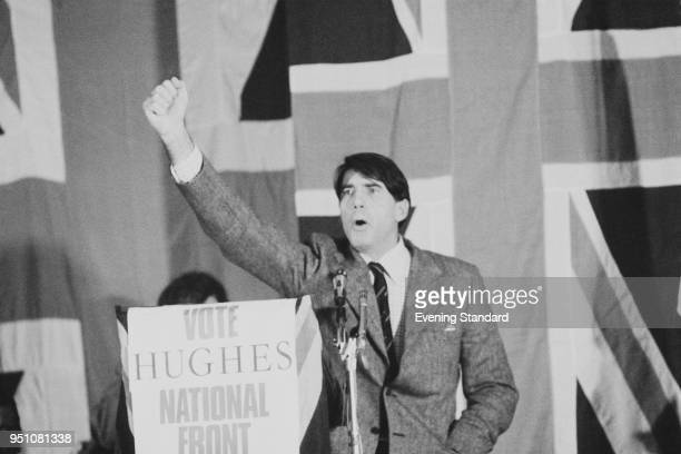 British politician Andrew Fountaine National Front candidate in the Norwich South constituency UK 28th February 1978