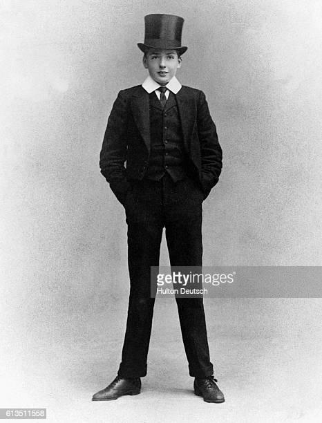 British politician Anthony Eden when at Eton aged about 13