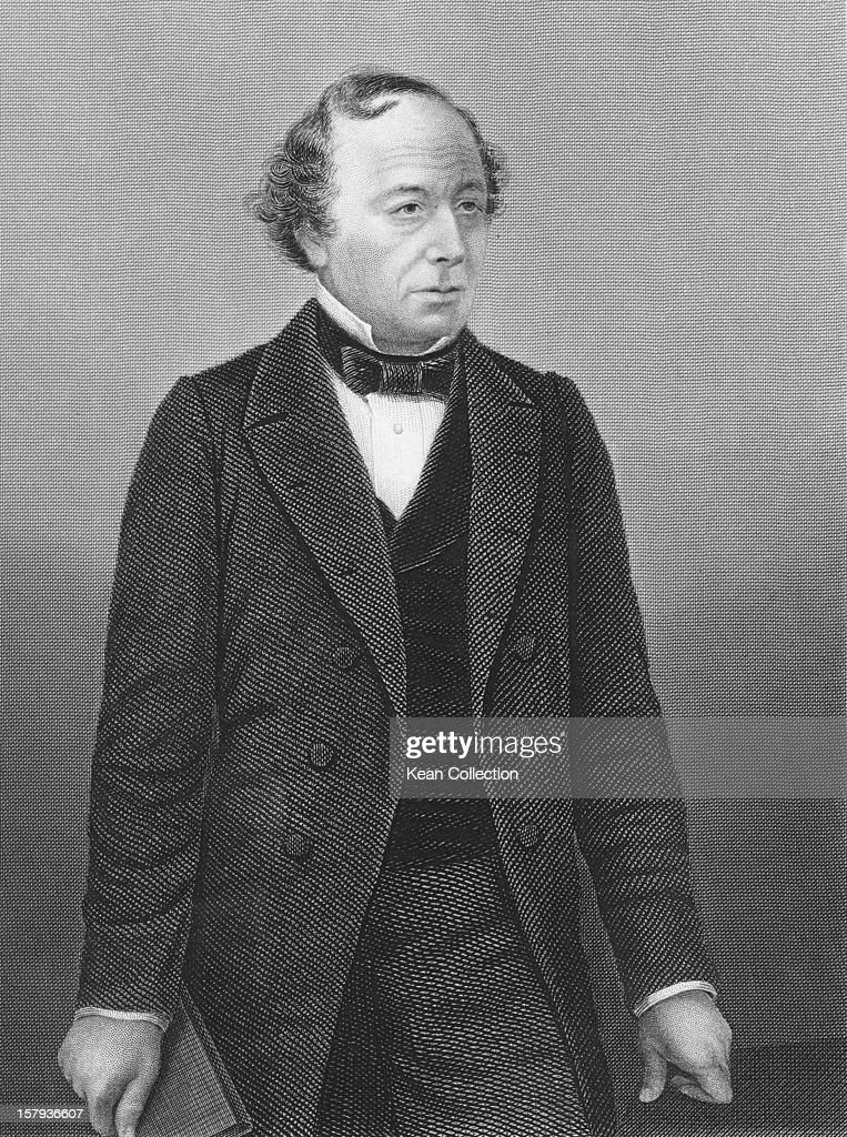 British politician Benjamin Disraeli (1804 - 1881), circa 1877. He served two terms as British Prime Minister.