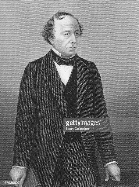 British politician Benjamin Disraeli , circa 1877. He served two terms as British Prime Minister.