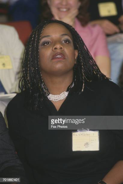 British politician Diane Abbott at the Labour Party Conference in Brighton UK November 1987
