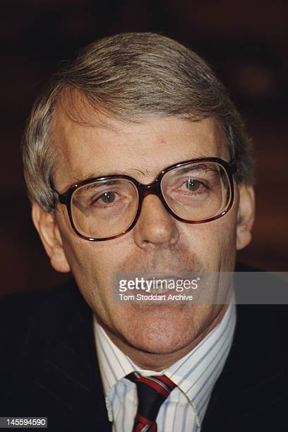 British politician John Major launches his campaign for leadership of the Conservative Party, 23rd November 1990.