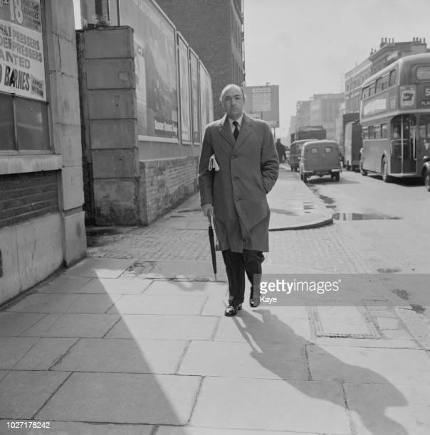 British politician John Profumo at the Toynbee Hall settlement in Whitechapel London UK 24th April 1964