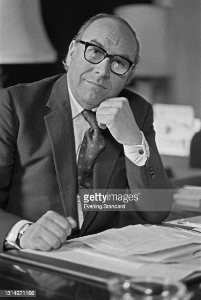 British politician Roy Jenkins , the new Home Secretary in Harold Wilson's government, UK, 7th March 1974.