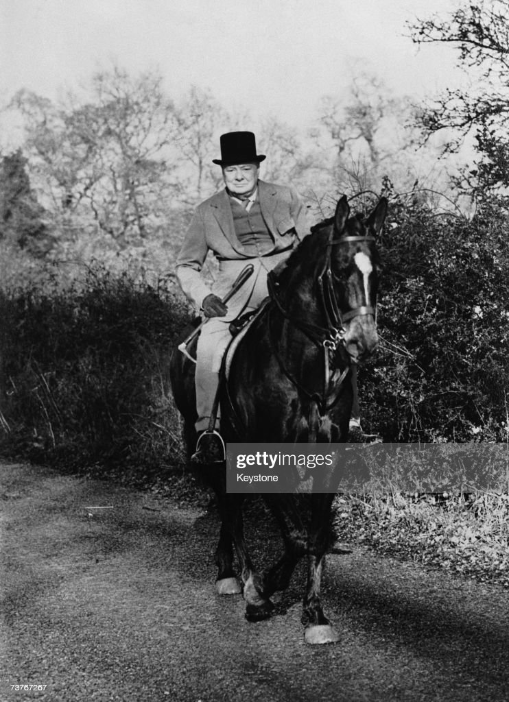 Churchill Rides : Nachrichtenfoto