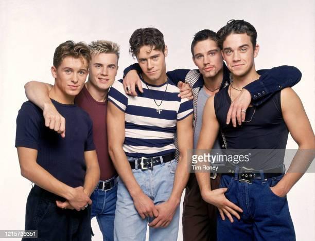 British pop band Take That, 1992.