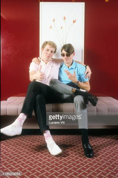 British pop band The Style Council Rome Italy 1984