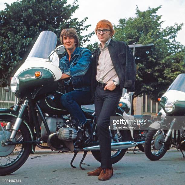 British pop duo Peter and Gordon in Germany, 1966.