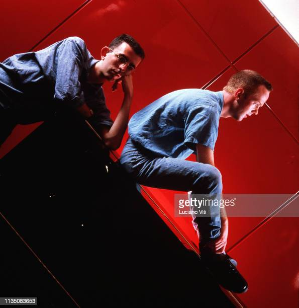 British pop duo The Communards , Rome, Italy, about 1987.