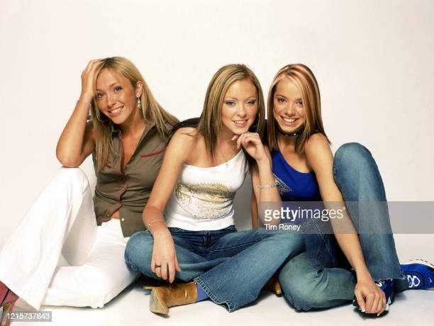 British pop girl group Atomic Kitten 2001