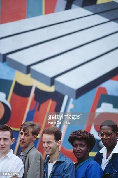 British pop group A Certain Ratio 1982