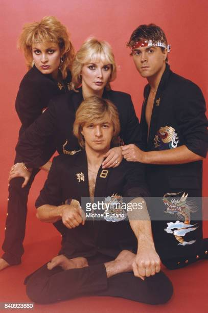 British pop group Bucks Fizz in 1982 From left to right Jay Aston Cheryl Baker Bobby G and Mike Nolan