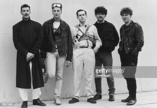British pop group Frankie Goes To Hollywood who topped the charts in 1984 with their single 'Relax' 1984