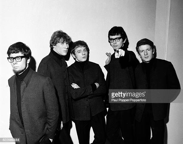 British pop group Manfred Mann in Manchester circa 1965 Leftright Manfred Mann Paul Jones Mike Vickers Tom McGuiness Mike Hugg