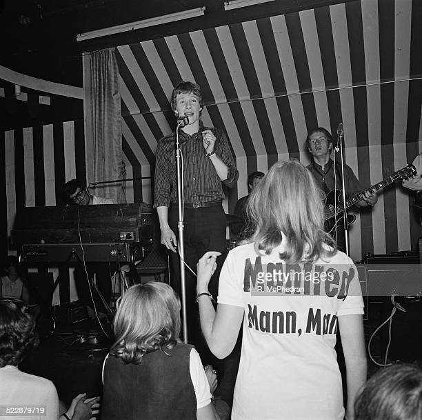 British pop group Manfred Mann play live at the Marquee Club London 10th August 1964