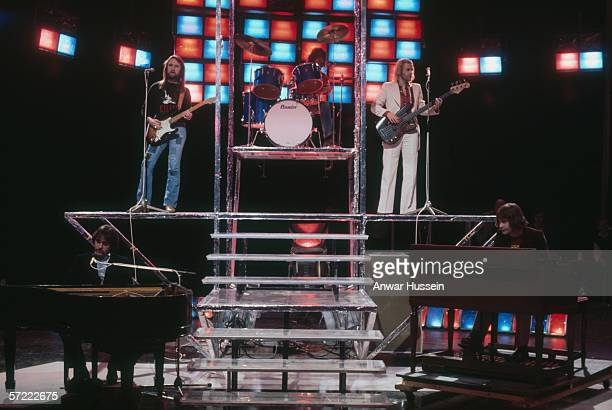 British pop group Procol Harum in concert circa 1970