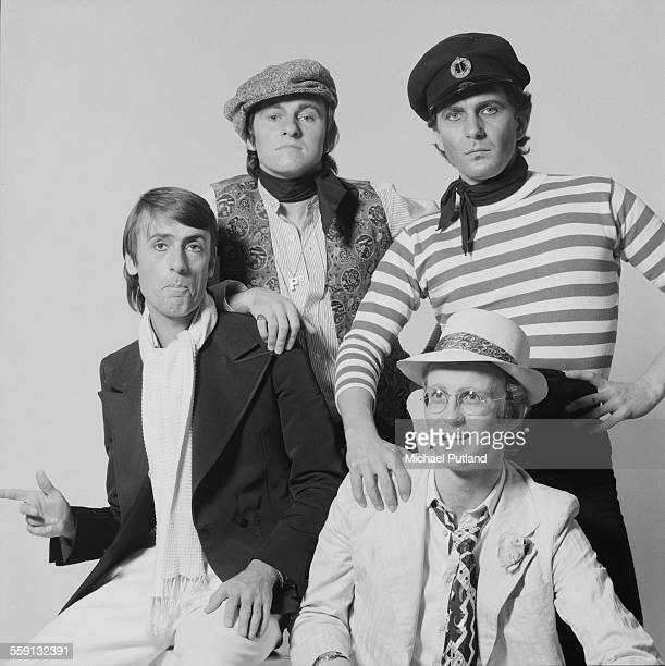 British pop group Sailor 21st October 1975 Left to right drummer Grant Serpell bassist Phil Pickett keyboard player Henry Marsh and singer Georg...