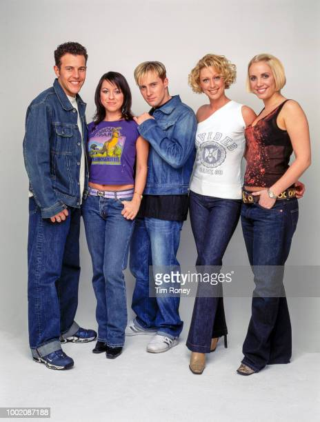 British pop group Steps circa 1998 from left to right Lee LatchfordEvans Lisa ScottLee Ian H Watkins Faye Tozer Claire Richards