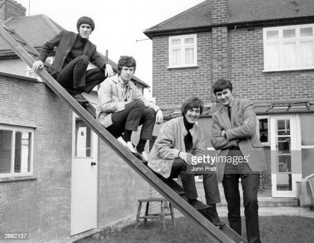 British pop group The Spencer Davis Group formed in Birmingham in 1963 are celebrating the success of their charttopping single 'Keep On Running' The...