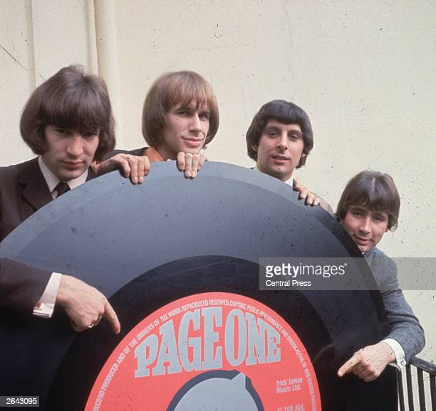 British pop group The Troggs with their biggest record to date.