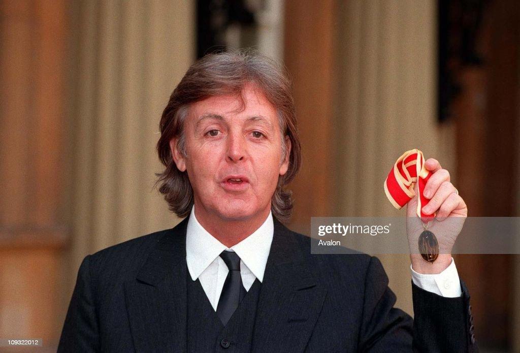 Sir Paul Mccartney : News Photo