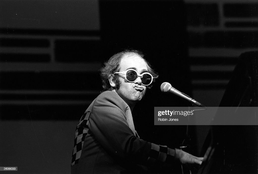 Archive Entertainment On Wire Image: Elton John