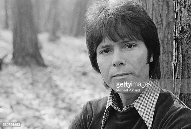 British pop singer Cliff Richard 25th February 1975