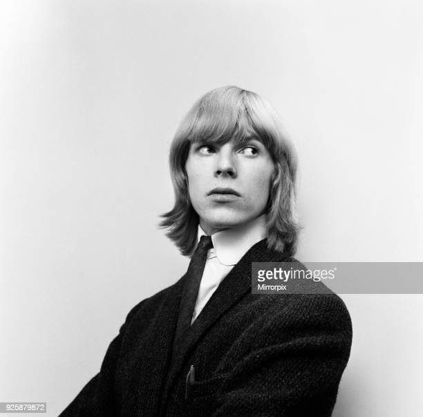 British pop singer David Bowie pictured when he was known as Davie Jones outside the BBC Television Centre waiting to speak to Barry Langford...