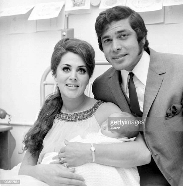 British Pop Singer Engelbert Humperdinck with his wife PATand their baby SON