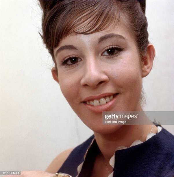 British pop singer jazz singer and actress Helen Shapiro in London England 1963