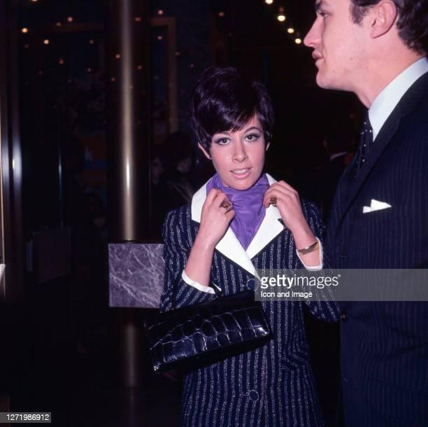 British pop singer jazz singer and actress Helen Shapiro in London England circa 1966