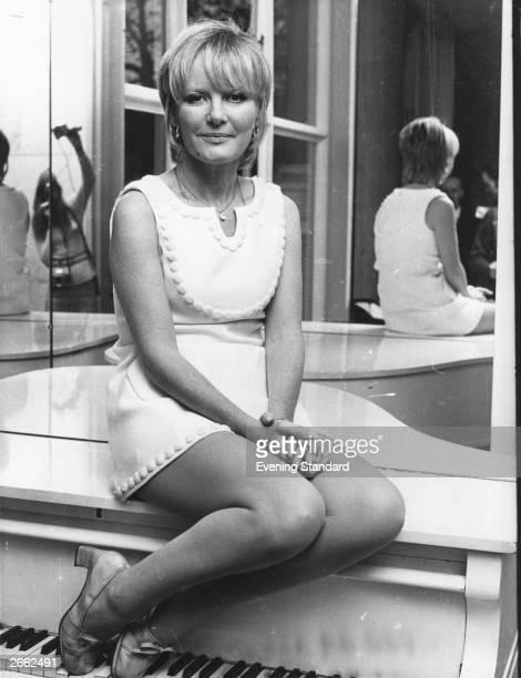 British pop singer Petula Clark attending a film premiere Original Publication People Disc HC0330