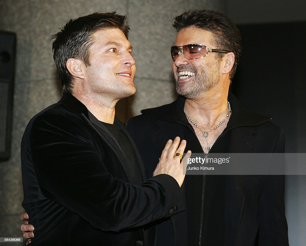 "George Michael Promotes ""A Different Story"" : News Photo"