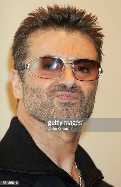 British pop star George Michael attends the Japanese Premiere of his film A Different Story on December 15 2005 in Tokyo Japan The fim will open on...